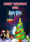 Personalised Angry Birds Christmas Card